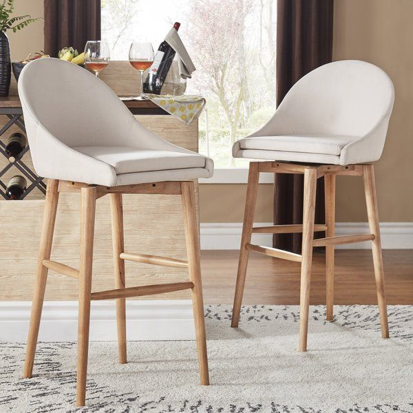 You Ll Love The Prism 24 Amp Quot Swivel Bar Stool At Wayfair