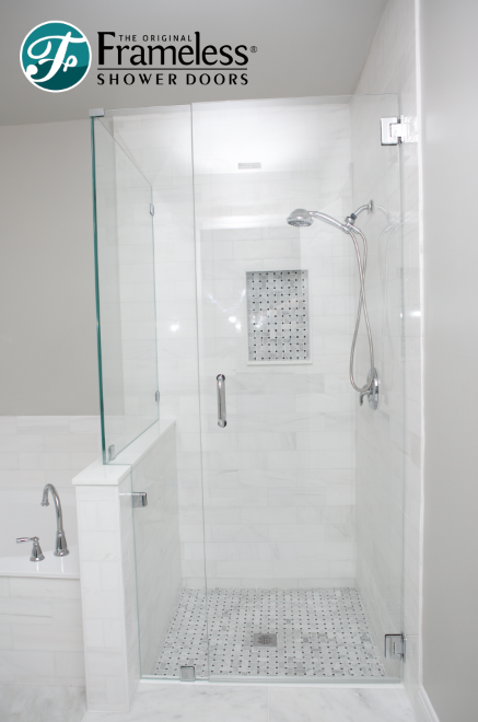 90 Degree By The Original Frameless Shower Doors With Images