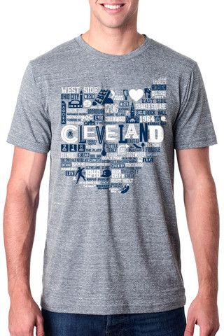 Cleveland Icons - Athletic Grey - Unisex Crew – CLE Clothing Co ... d4c0bab8a
