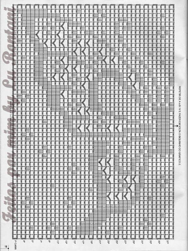 Tapete Quadrado Borboleta Em Croche Com Grafico Crochet