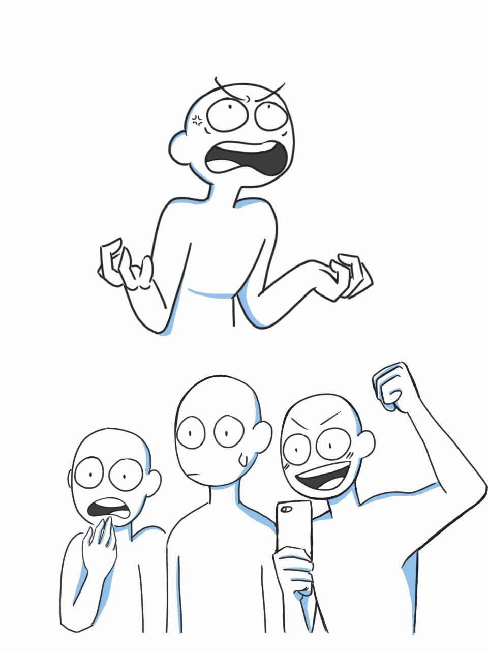 Pin By Rising Spirit On Draw Something In 2020 Drawing Meme Drawing Face Expressions Drawing Expressions