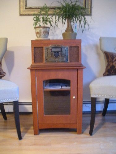 Amazon.com: Crosley ST75 Bardstown Entertainment Center Stand - Paprika: Electronics
