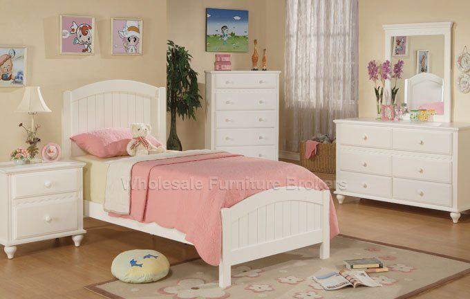 4 PC Visalia Twin Bedroom Furniture Set by Urban Cali Twin bedroom