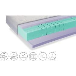 Photo of Foam mattress Sea Dream Gel ¦ white ¦ Dimensions (cm): W: 200 H: 22 openers
