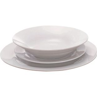 Buy Argos Value Range 12 Piece Porcelain Dinner Set - White at Argos.co.  sc 1 st  Pinterest & Buy Argos Value Range 12 Piece Porcelain Dinner Set - White at Argos ...