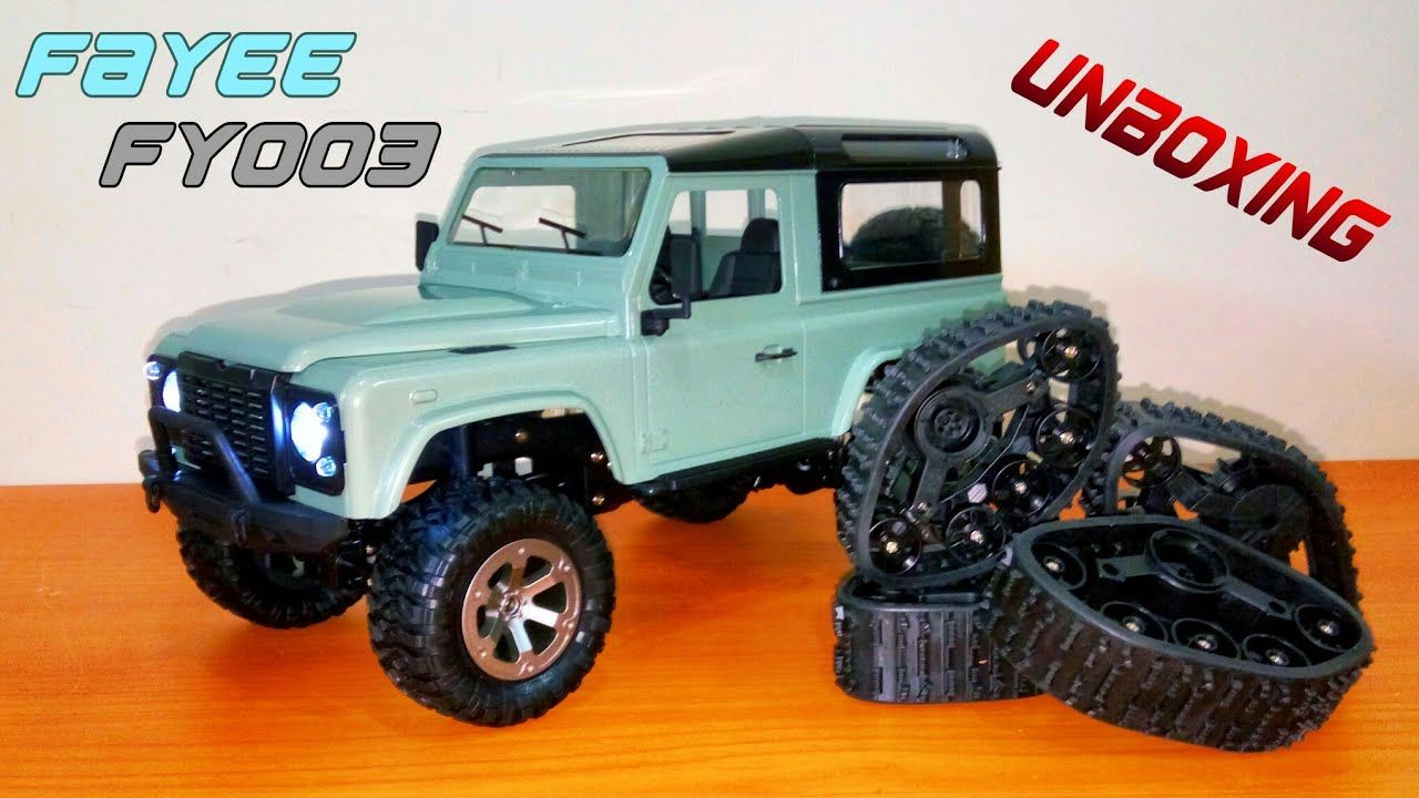Fayee fy003 Off Road RC Land Rover Defender D90 1:16