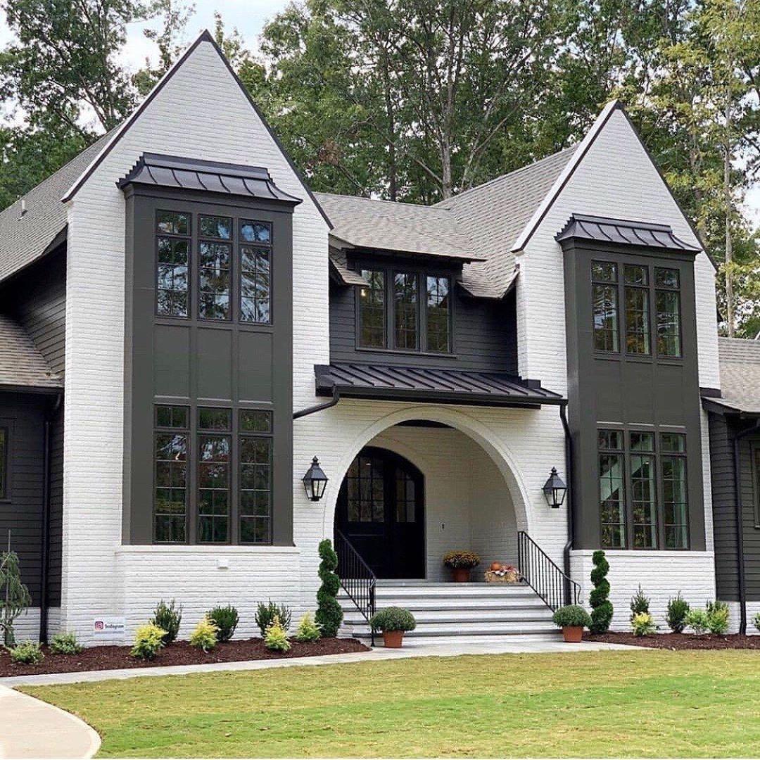 "Unique Home Exterior Design: Leah 🏡 DIY Home Design On Instagram: ""You Know What's"