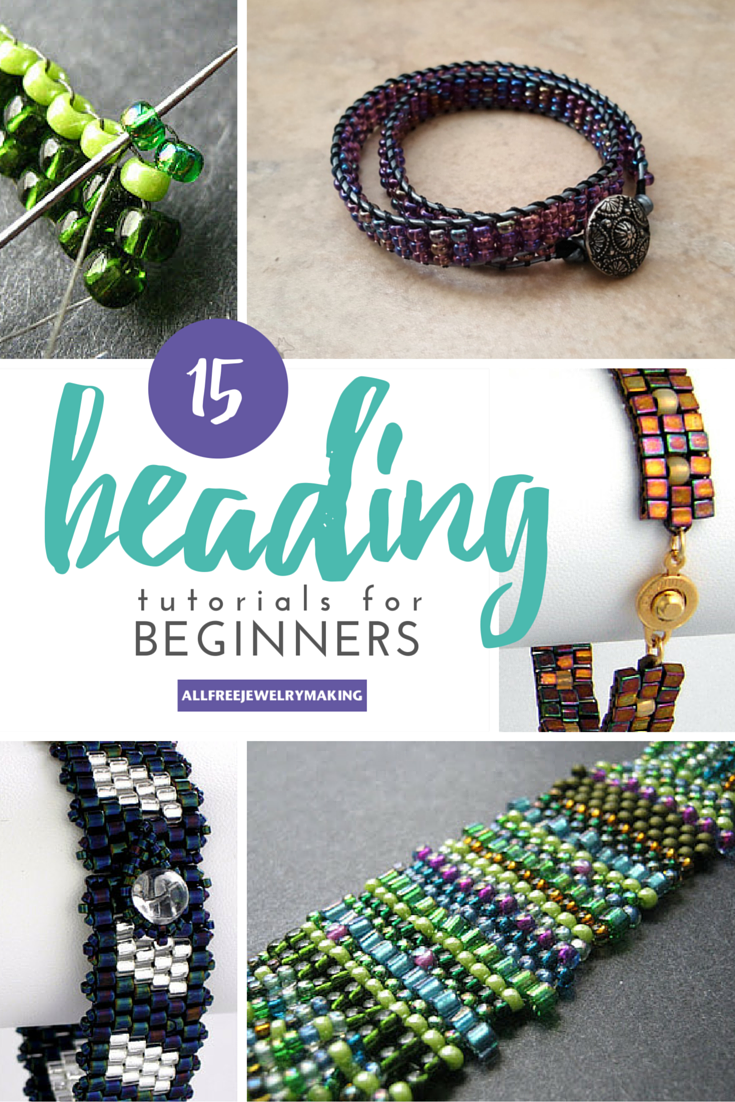 Beaded Fancy Beads: Weaving Options and Schemes for Beginners