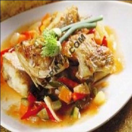 Resep Ikan Kerapu Di Masak Kuah Food Fish Recipes Healthy Recipes