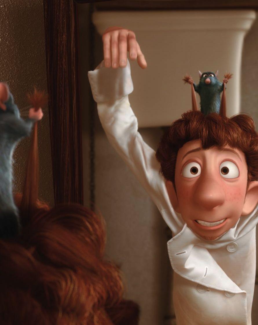 Remy Linguini Ratatouille 2007 Ratatouille 2007 Ratatouille Disney Ratatouille Movie Disney Pixar Movies