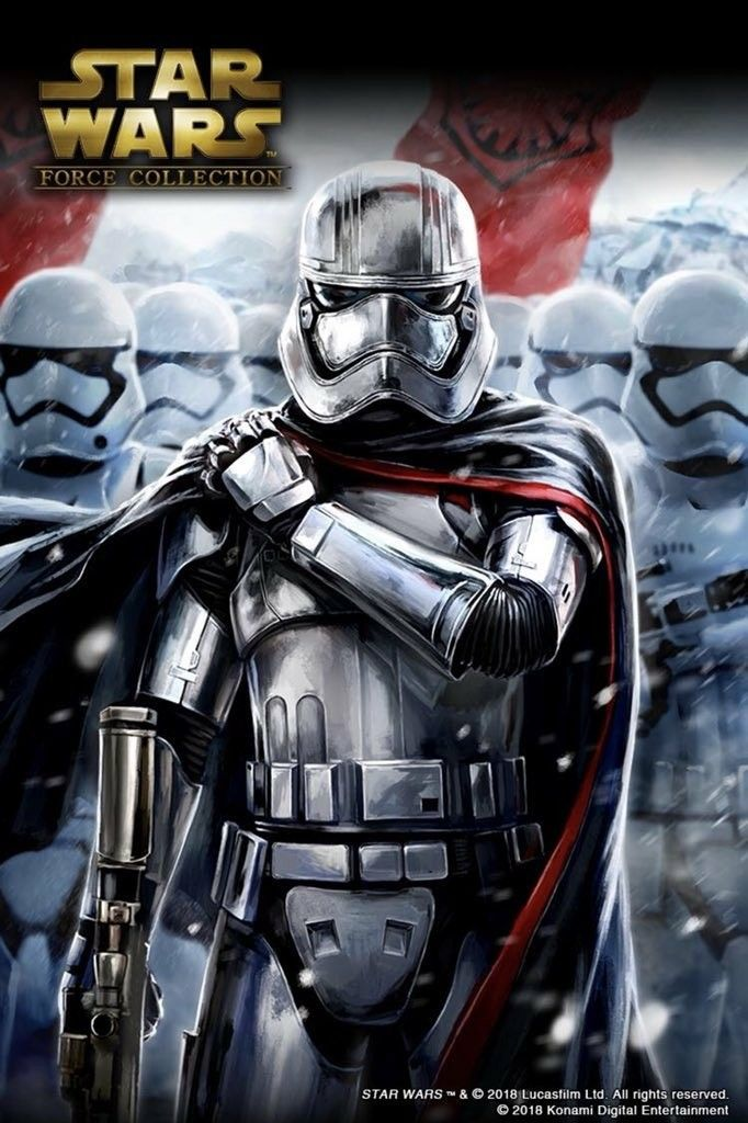 Captain Phasma Star Wars Force Collection Star Wars Images Star Wars Pictures