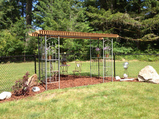 Our Repurpose Project Old Gazebo Minus A Few Parts With Sun Wood