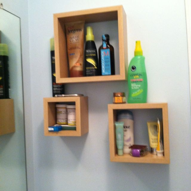 Great Storage Idea For A Small Bathroom
