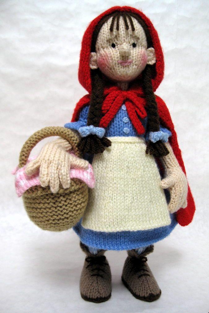 Little Red Riding Hood - Alan Dart | knitted toys | Pinterest ...