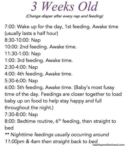 Birth To 6 Months Baby Schedule Baby Schedule Baby Routine Baby Sleep