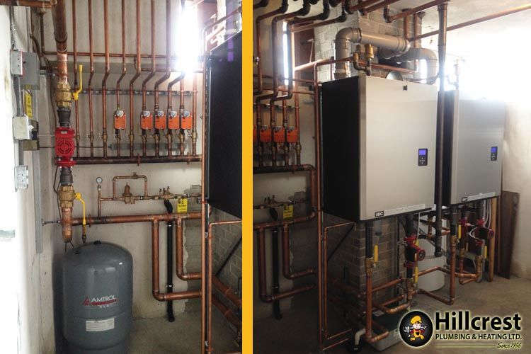 IBC Main and Slave Boilers with Zone Valves for a Commercial ...