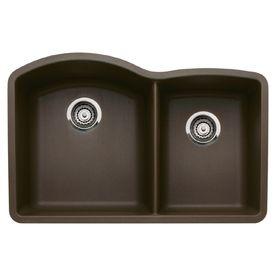 BLANCO�Diamond Double-Basin Undermount Composite Kitchen Sink