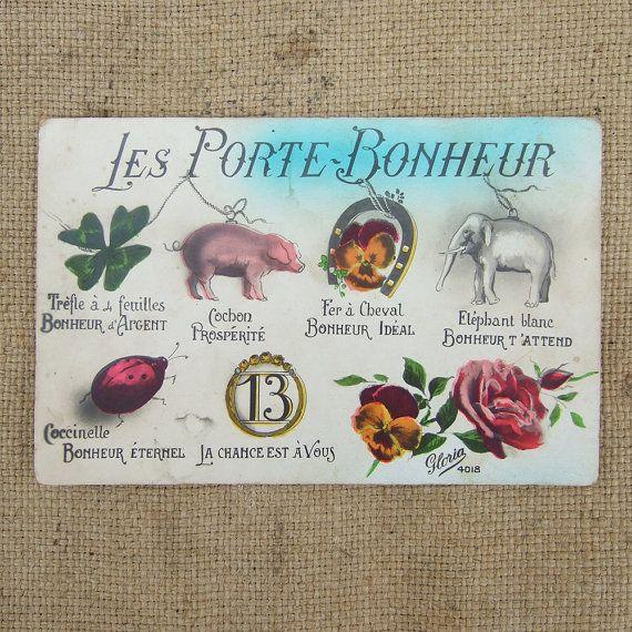 Les Porte Bonheur Culture Civilisation Pinterest