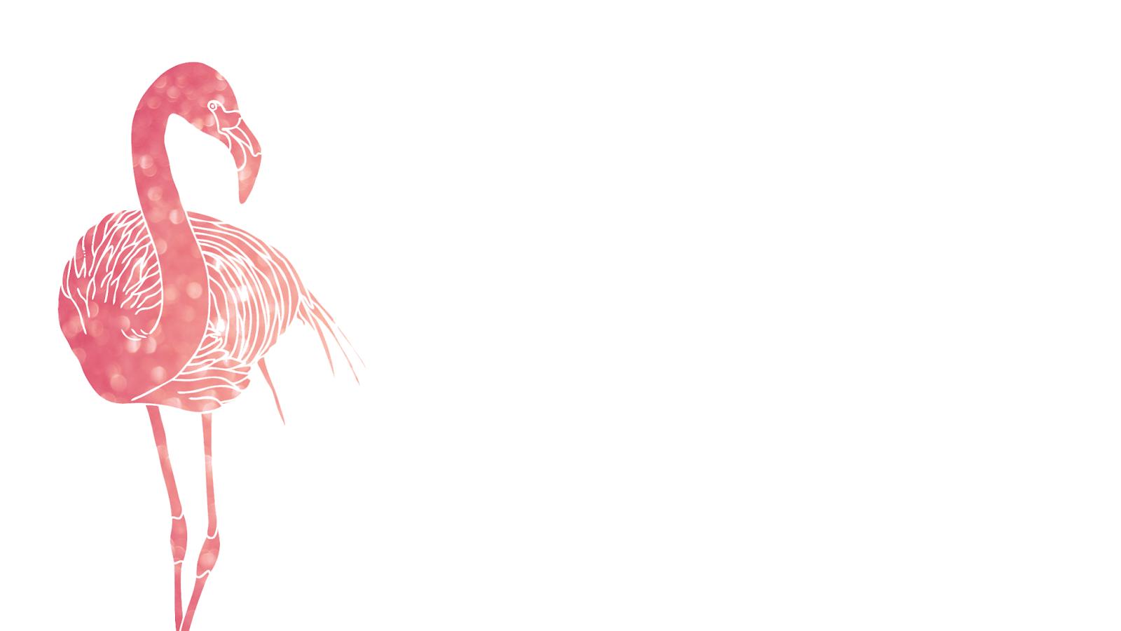 FREEBIES // PINK FLAMINGO DESKTOP WALLPAPERS Pink