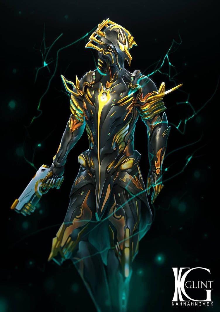 Volt Prime By Kevin Glint Warframe Art Warframe Wallpaper Futuristic Art