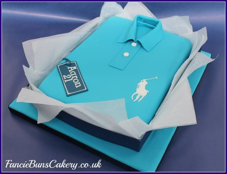 Ralph Lauren Polo Shirt Cake Cakes I Like Pinterest ...