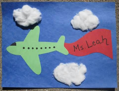 Airplane crafts httpsunflowerstorytimetagairplanes plane craft and lots of other transportation crafts fingerplays and books to go sciox Choice Image