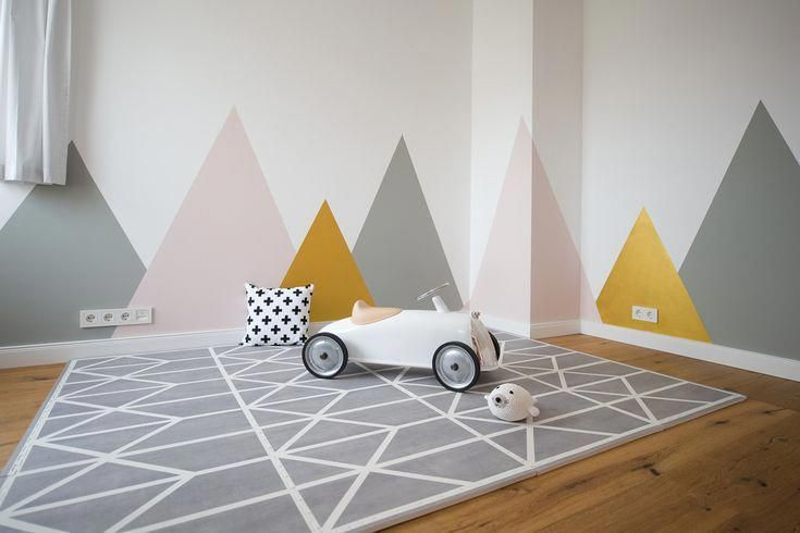 Grey Pebble - Nordic Collection Look how amazing our Scandinavian playmats look in a playroom? Our stylish playmats are padded foam playmats with added style Great for the nursery, playroom and kids bedroom. Browse Toddlekind for stylish nursery ideas. #playmats #stylishplaymat #babyplaymat #nurseryideas #nurseryinspo #playrooms #kidsbedroom #scandinavianbedroom