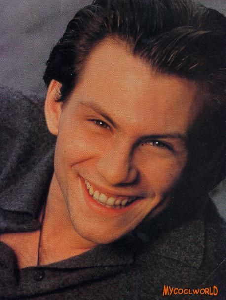 Christian Slater Christian Slater Young Christian Slater Cute Actors