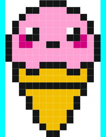 Pixel Art Aliment