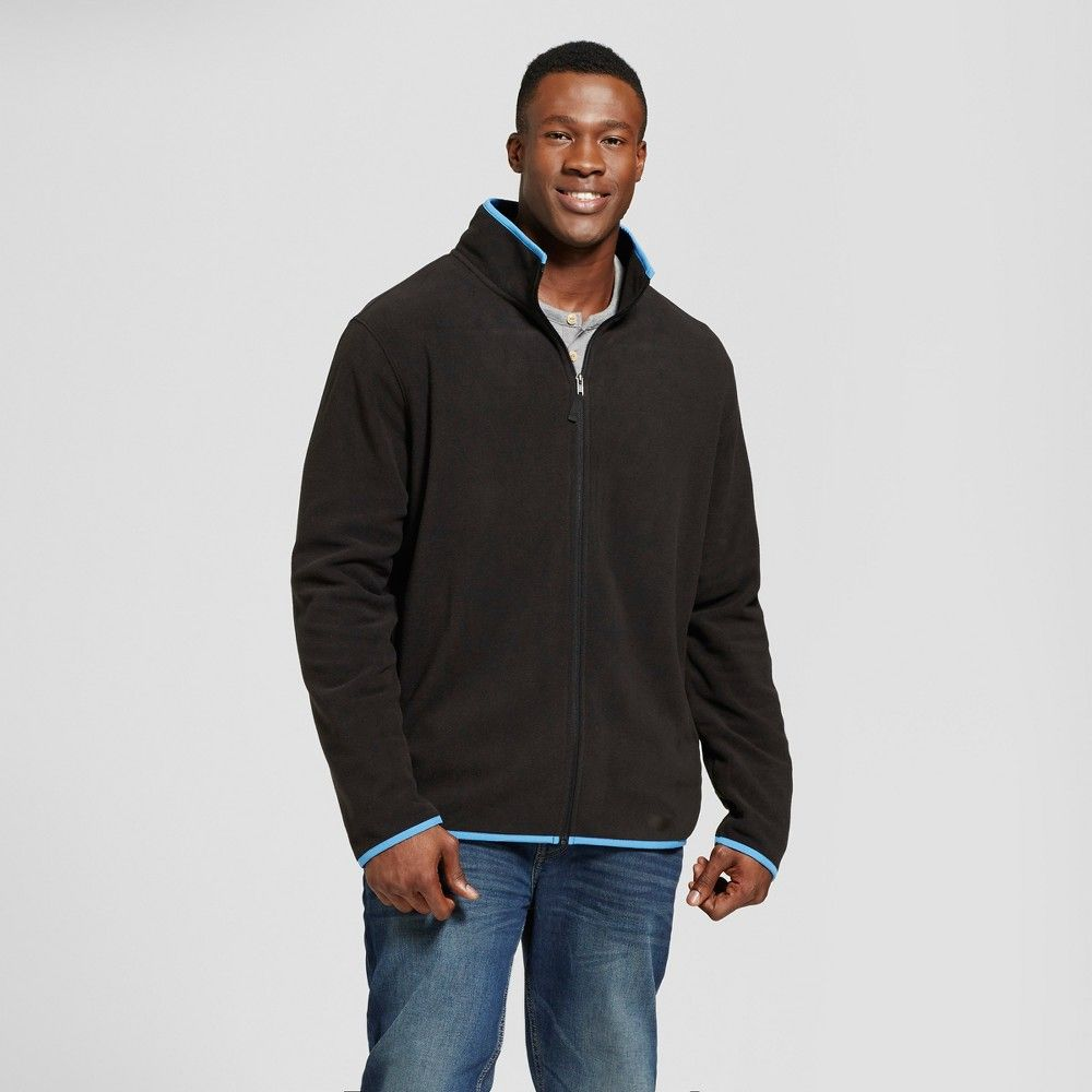 Menus big u tall micro fleece jacket goodfellow u co blue xbt
