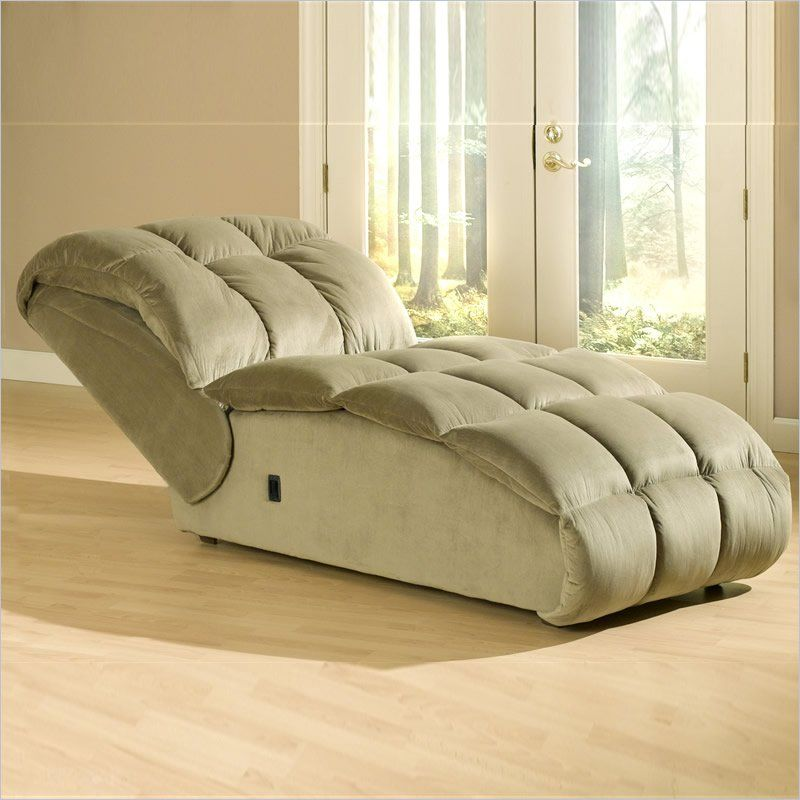 Catnapper Softie Oversized Reclining Chaise Desk