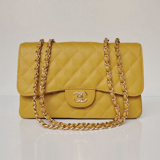 736f605d33aef5 Chanel Orange Lambskin Jumbo Classic 2.55 Flap Bag | Chanel Bags ...