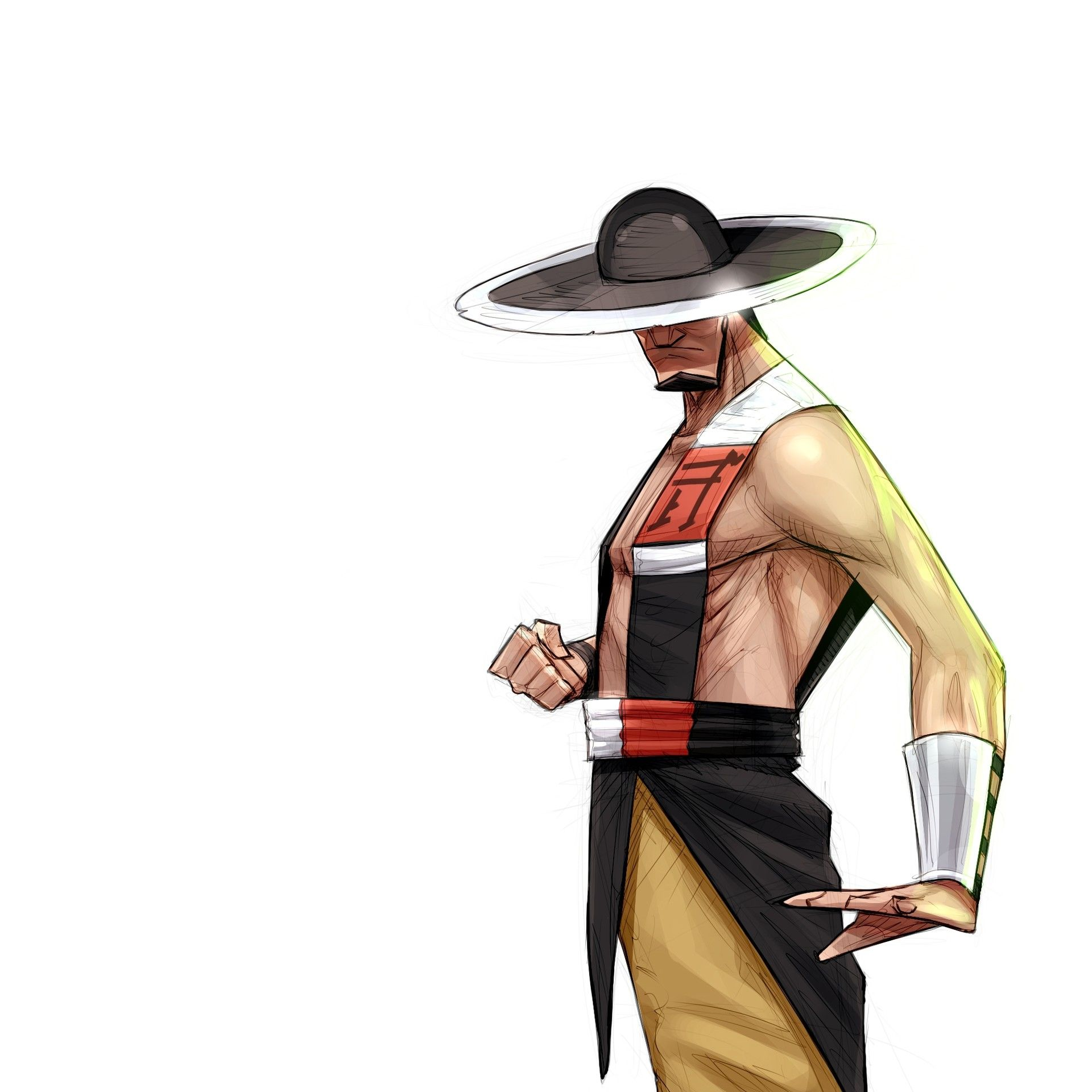 Artstation Kung Lao Mk3 Evgeny Yurichev Mortal Kombat Characters Mortal Kombat Art Mortal Kombat