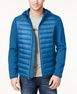 Michael Kors Men's Lightweight Packable Hooded Quilted Jacket - Coats &  Jackets - Men - Macy's