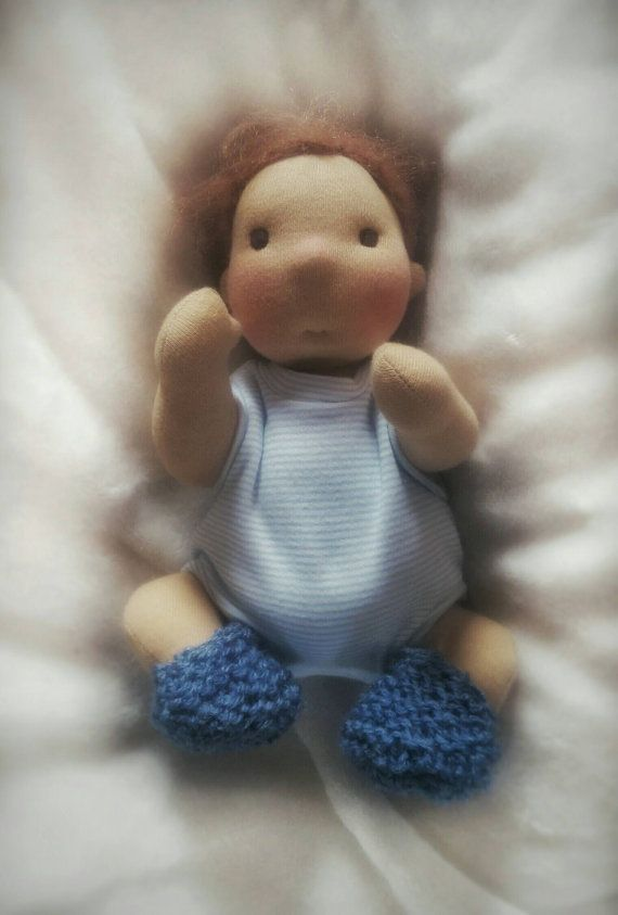 Customize this handmade personalised small doll Plush baby doll