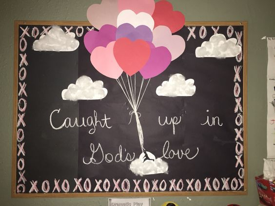 Valentines Bulletin Board #valentinesdaybulletinboardideas