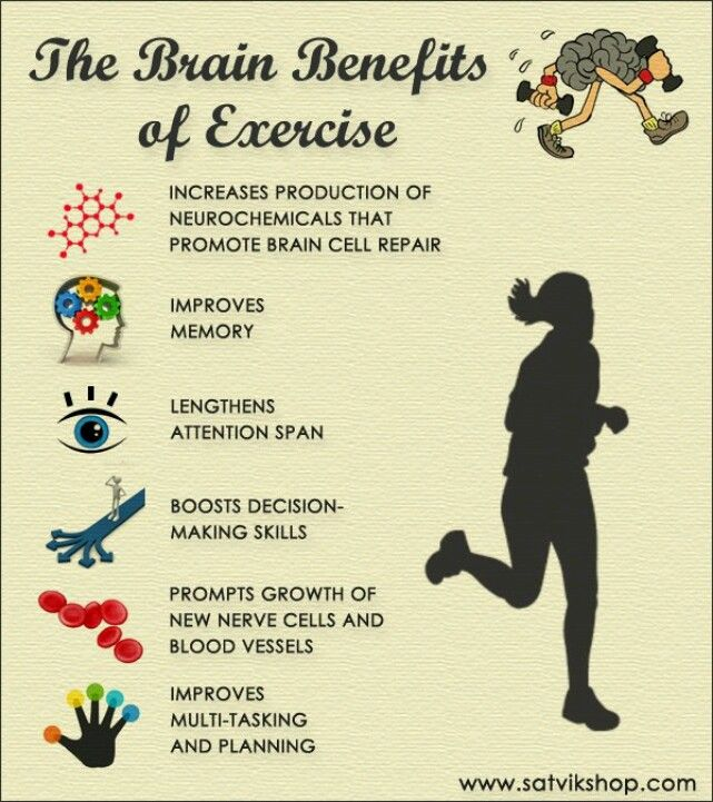 The physical and psychological benefits of