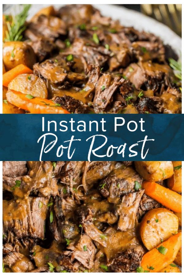 Instant Pot Pot Roast Recipe - Easy Pressure Cooker Pot Roast - {VIDEO}