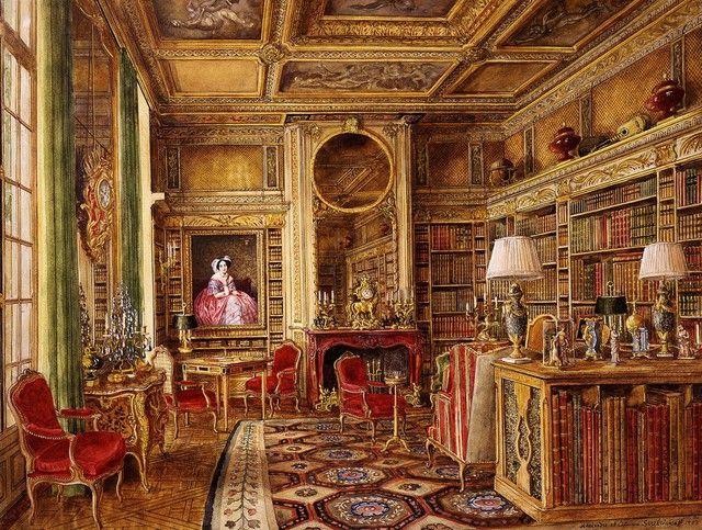 Hotel Lambert Ile Saint Louis Paris France Built In The 18th