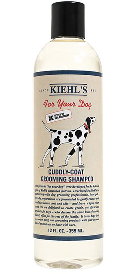 Kiehls dog luxury shampoo