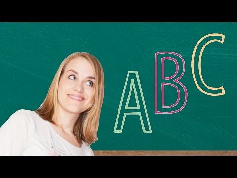 German Lesson (3) - The ABC - A1 - YouTube