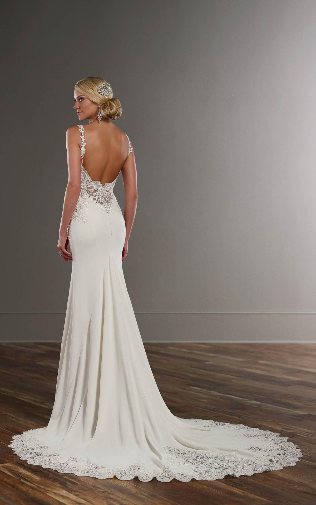 60 Perfect Low Back Wedding Dresses | Wedding dress, Backless ...
