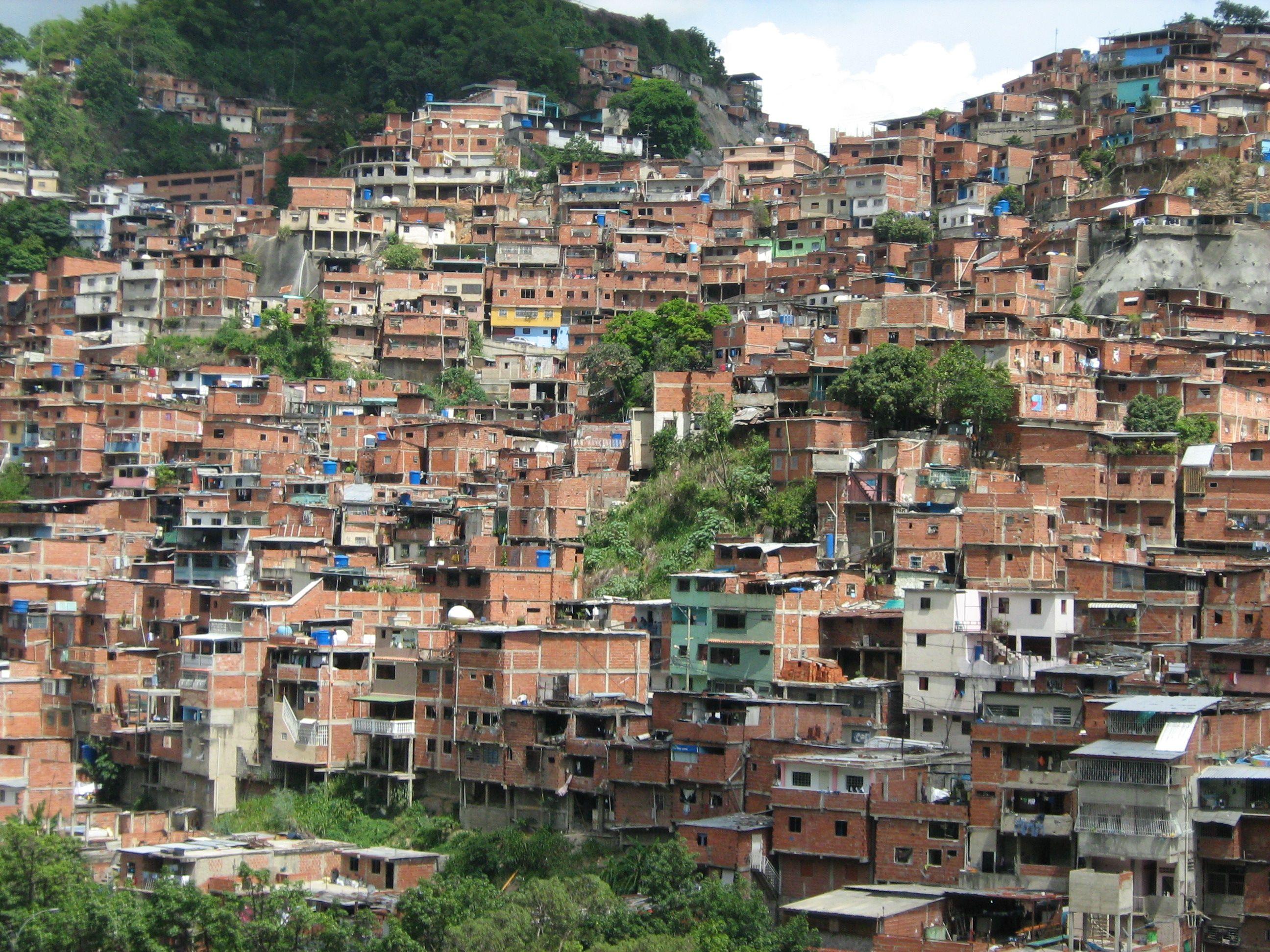 Caracas Venezuela Shanty Town Slums City Photo