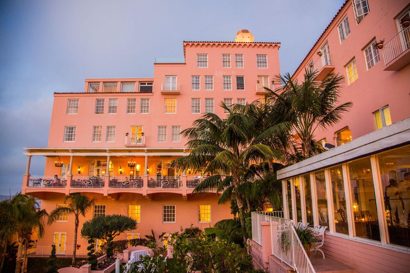 Beautiful Historic La Valencia Hotel In La Jolla California