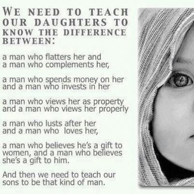 Things we need to teach our daughters! - Jus Sayin