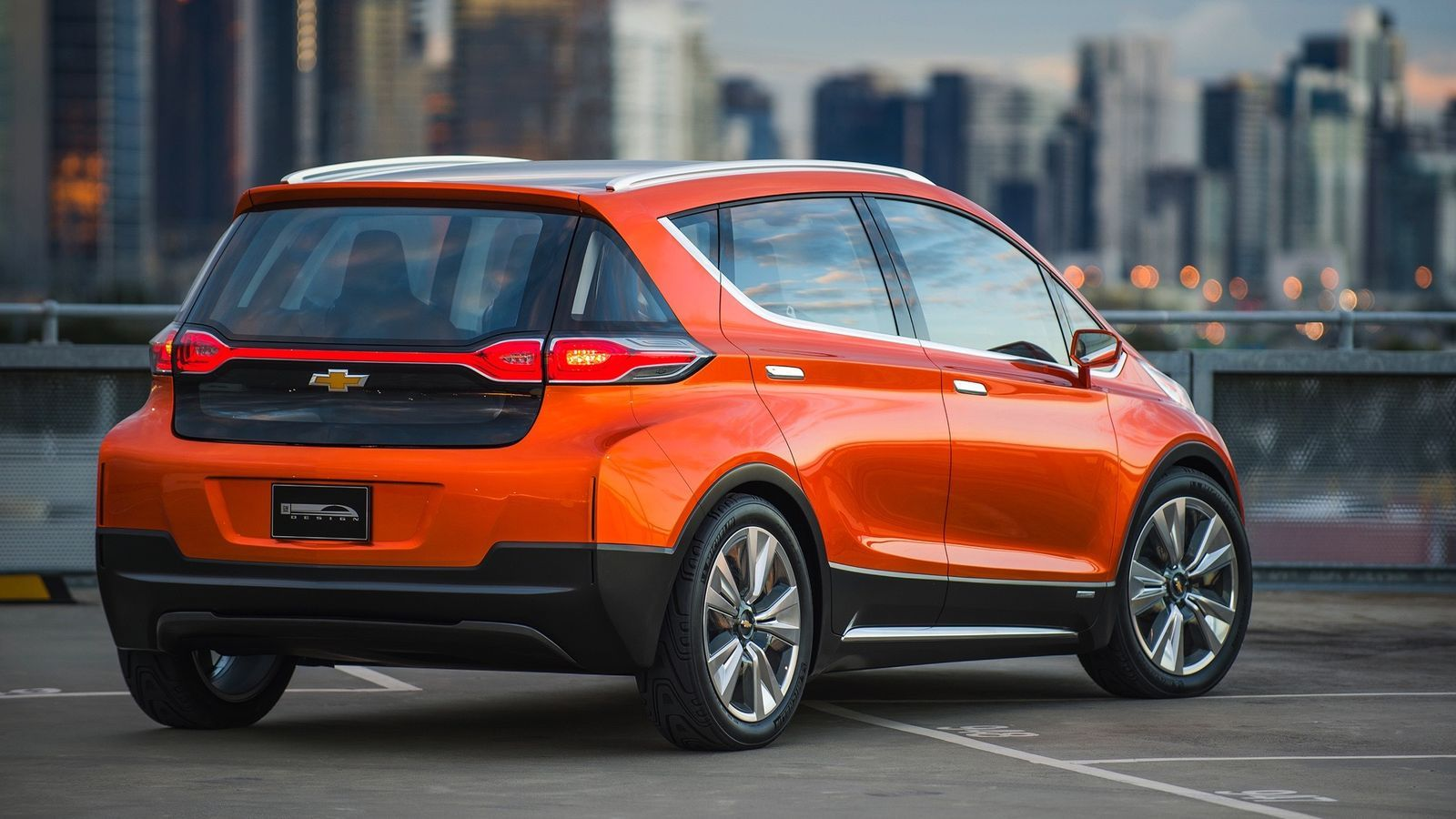This Is The Chevrolet Bolt Gm S Electric Car Of The Future