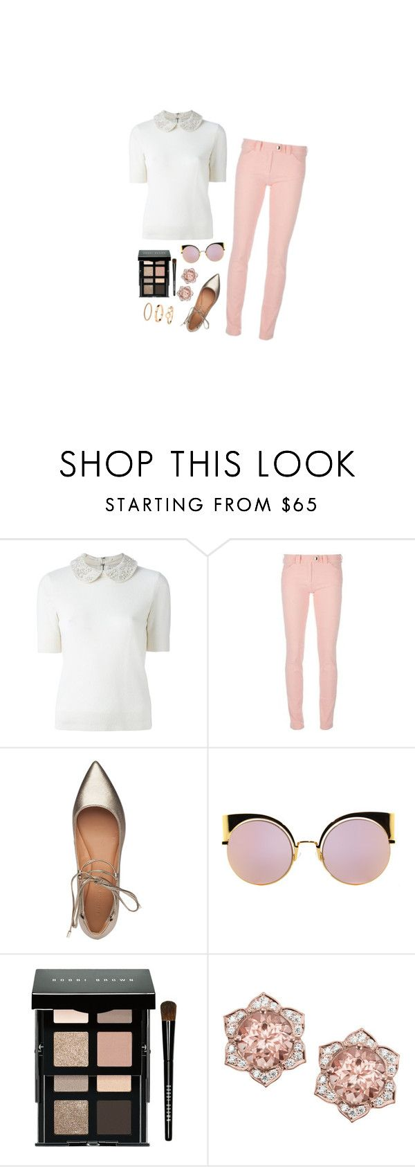 """""""💕"""" by b-pearl ❤ liked on Polyvore featuring Alice + Olivia, Balenciaga, Sigerson Morrison, Fendi, Bobbi Brown Cosmetics and H&M"""