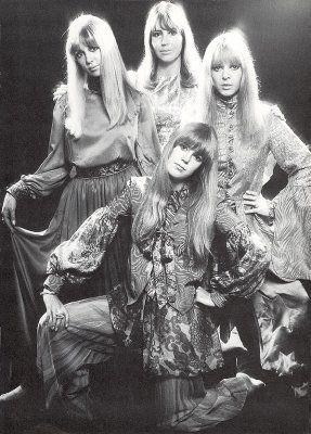 The Beatle's Wives: Cynthia Lennon, Maureen Starkey, Jenny Boyd and Pattie Boyd 1960s