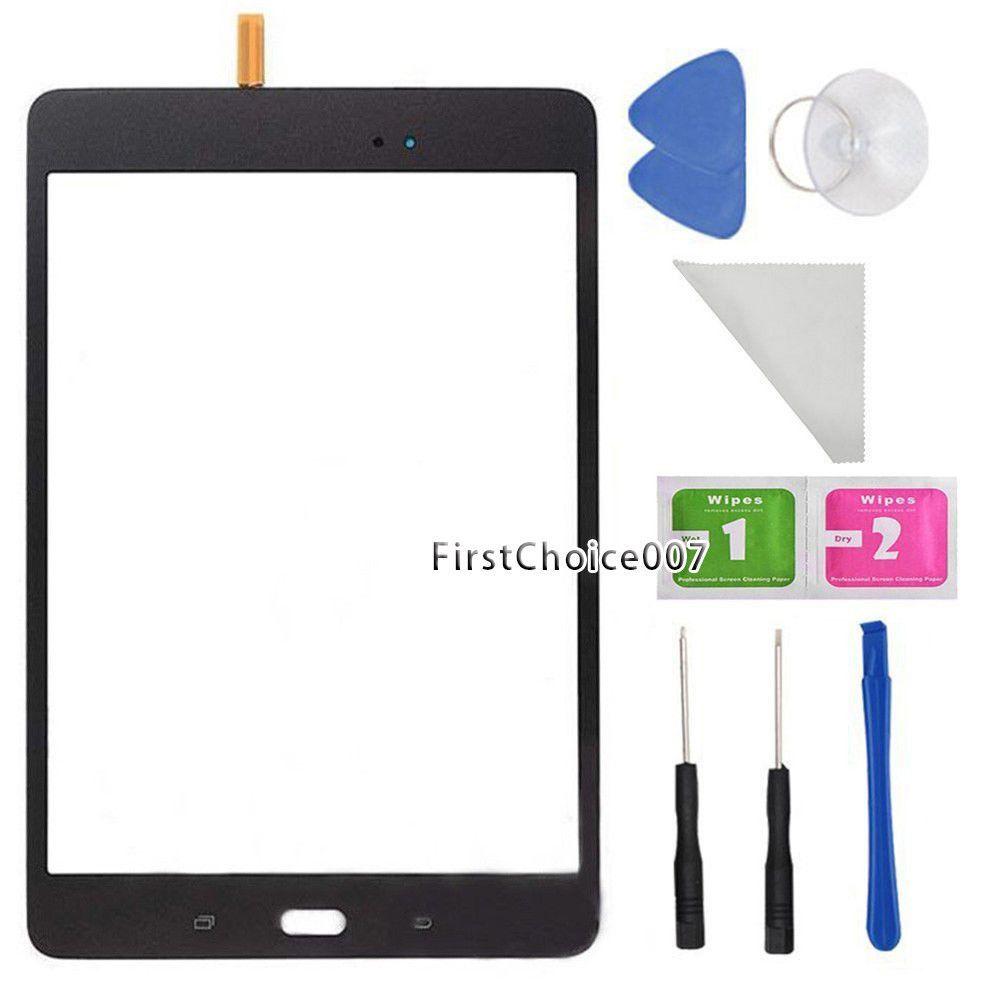 "Gray Samsung Galaxy Tab A 8/"" T350 SM-T350 Touch Screen Digitizer Glass Lens"