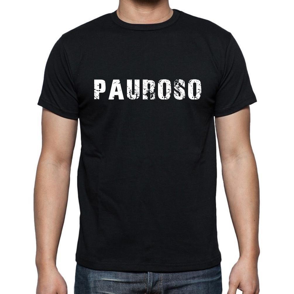 pauroso, Men's Short Sleeve Rounded Neck T-shirt